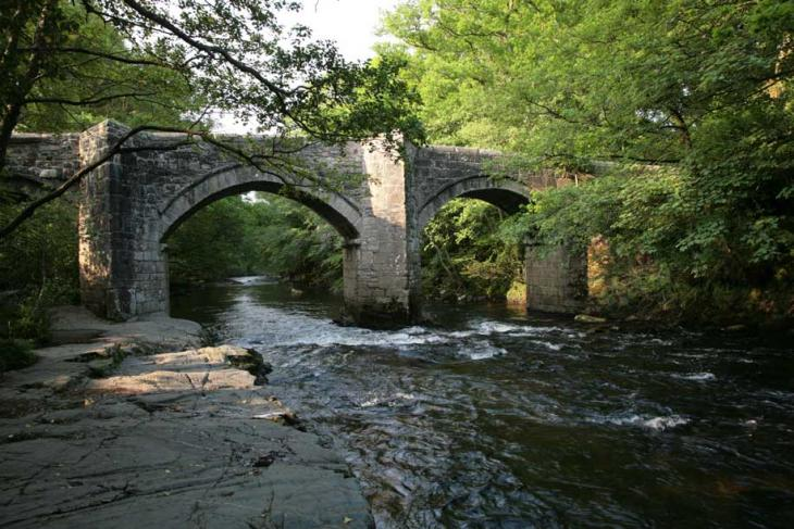 River Dart Bridge near Holne Chase