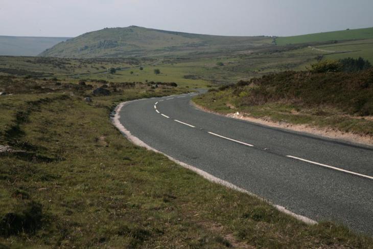 Winding Road - Eastern Dartmoor