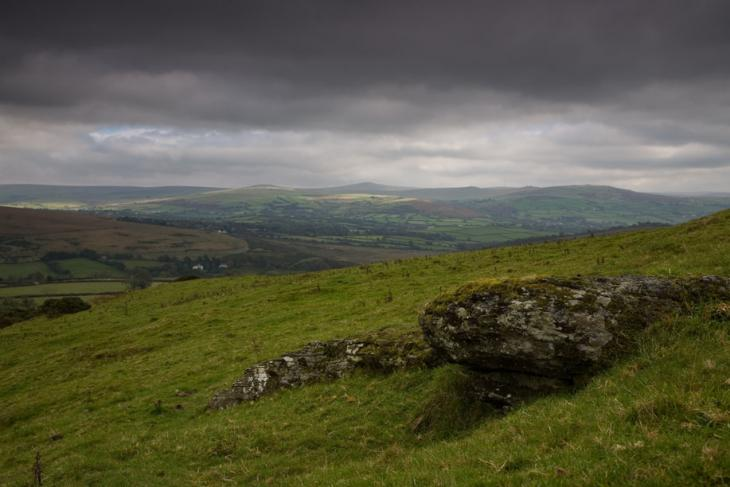 Dartmoor - View from the West
