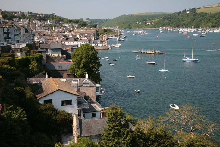 View of Dart from Dartmouth