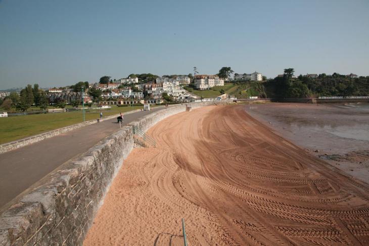 Goodrington Sands Beach - Paignton