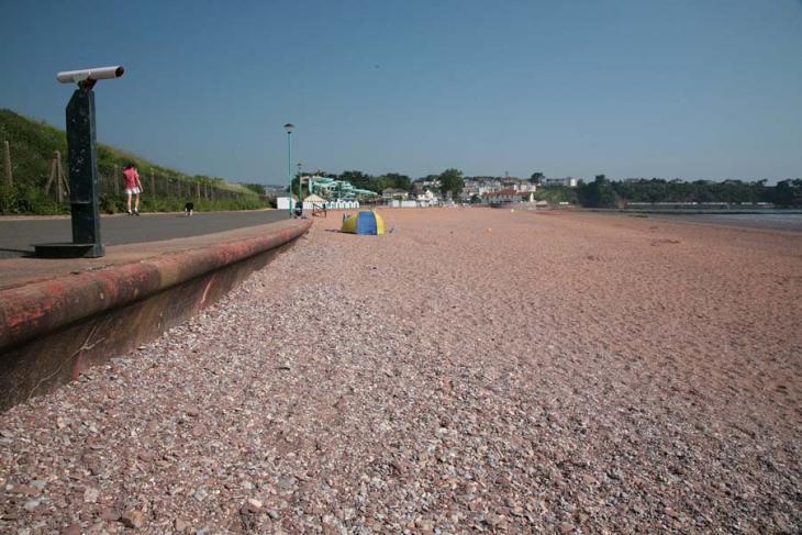 Goodrington beach