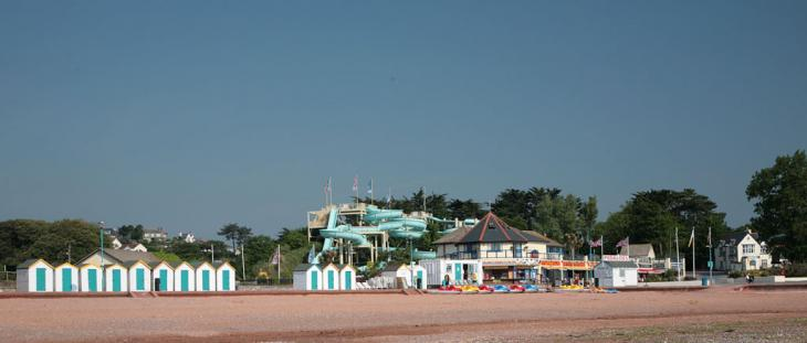Goodrington beach amusements