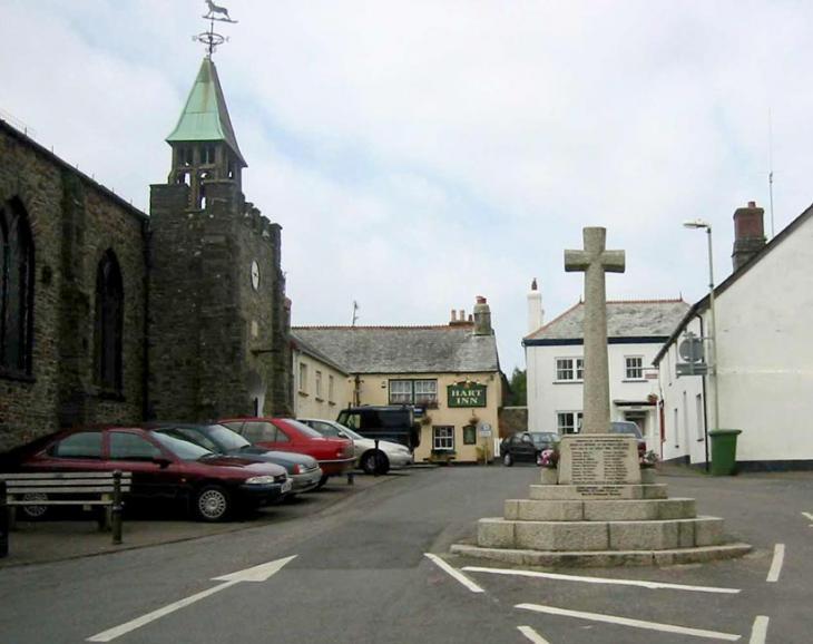 Hartland Church and Pub