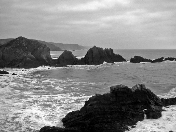 Hartland Quay Rocks