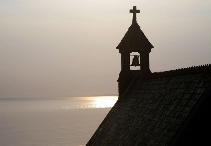 Chapel Silhouette - Hope Cove