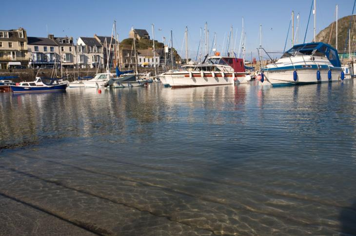 Ilfracombe Harbour shallows