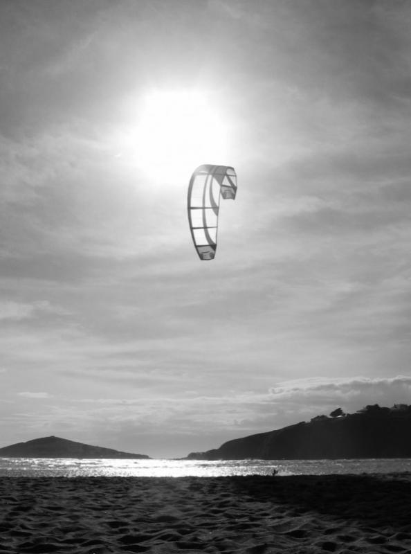 Bantham Kite Surfer