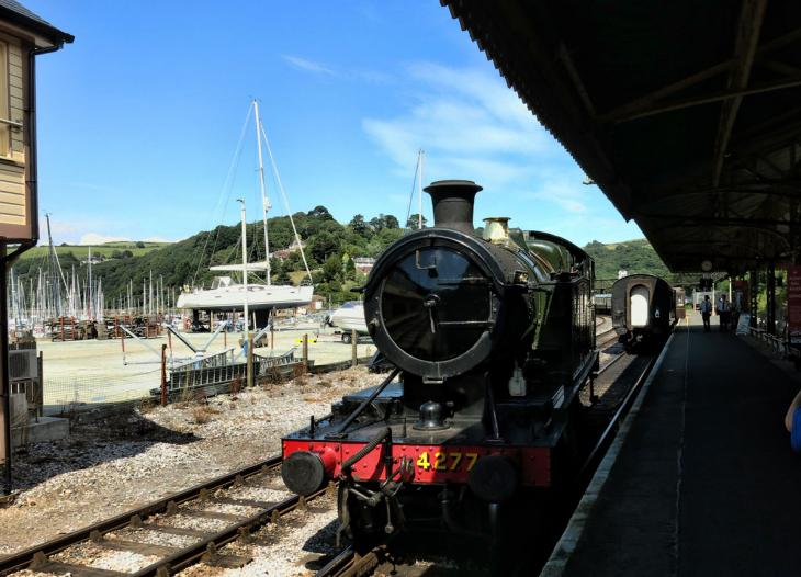 Paignton Dartmouth Steam Railway