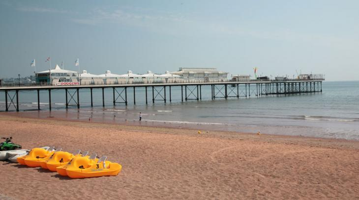 Paignton Pier and Pedaloes