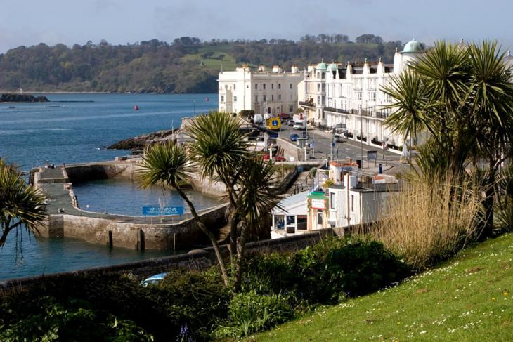 Plymouth Hoe Harbour View