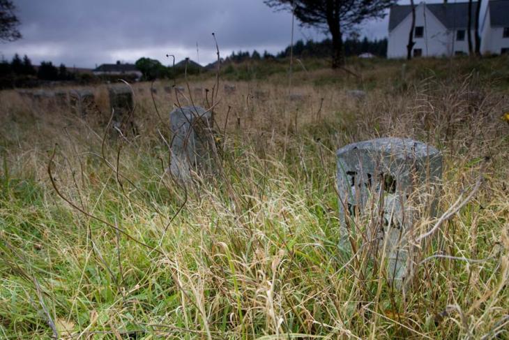 Dartmoor Prisoner Graves - Princetown
