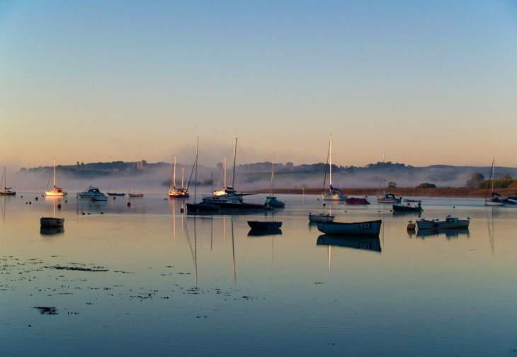 Topsham - Exe River Sunrise