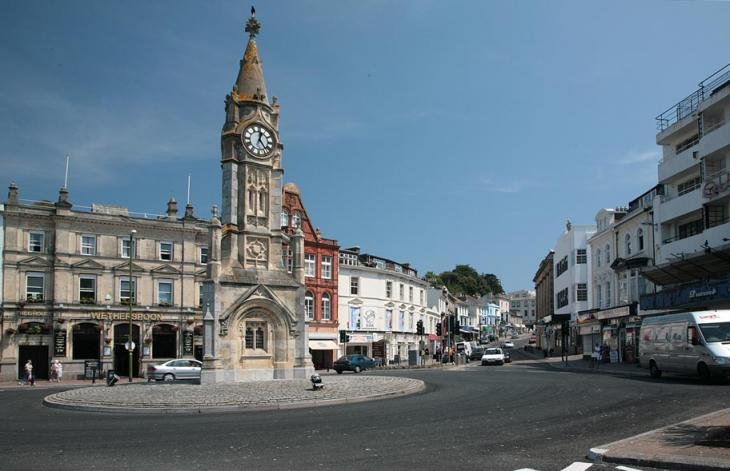 Torquay Clock Tower Roundabout