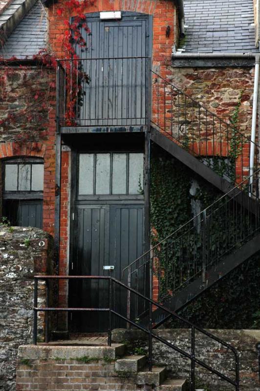 Totnes - Bricks and Stairs